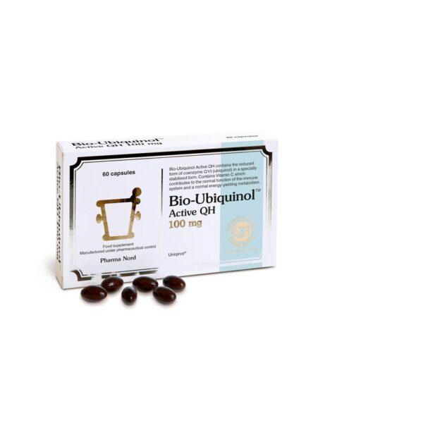 pharmanord bio ubiquinol active qh 100mg 60caps 1
