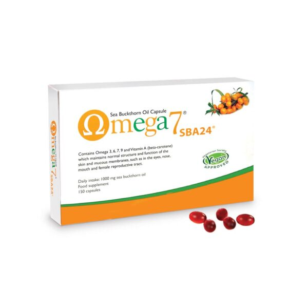 pharmanord omega 7 sba24 150 capsules 1