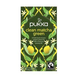pukka tea clean matcha green 1