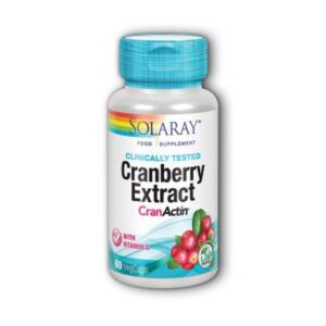 solaray cranactin cranberry extract 1
