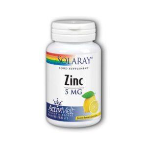 solaray zinc activ melt 1
