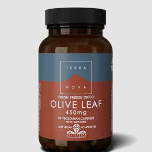 terra nova olive leaf 450mg 1