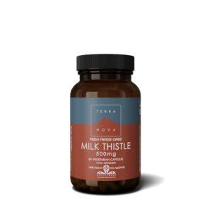 terranova milk thistle mg caps wiz