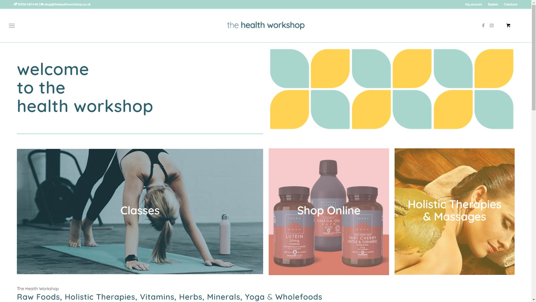 thehealthworkshop new website 1