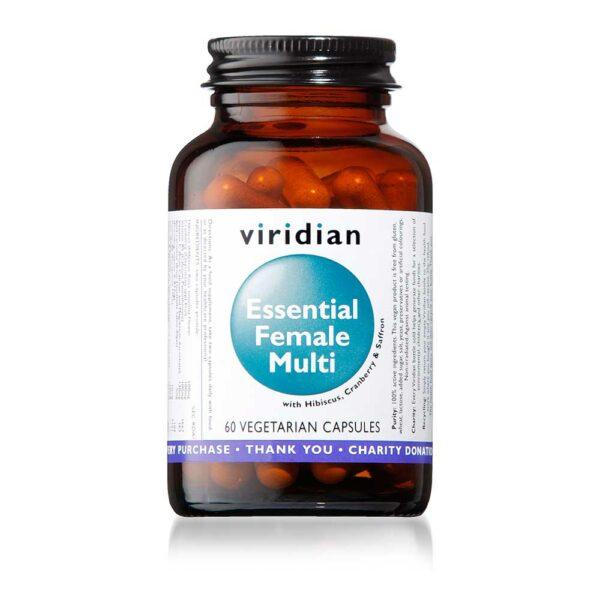 viridian essential female multi caps