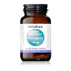 viridian high potency pycnogenol mg caps