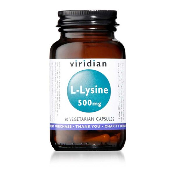 viridian l lysine caps