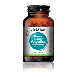 viridian organic icelandic angelica leaf extract capsules