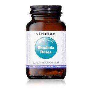 viridian rhodiola rosea caps