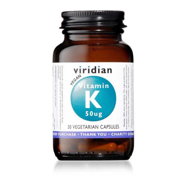 viridian vitamink ug caps