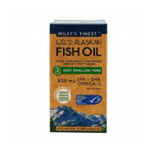 wileys easy swallow wild alaskan fish oil