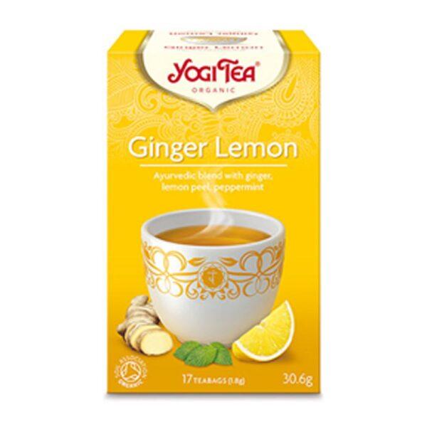 yogi ginger lemon tea 1